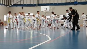 Line Kicking - Ellenbrook Kids Martial Arts Classes